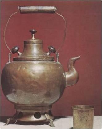 Как называется древняя версия электрического чайника