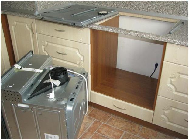 Как подключить духовой шкаф к электричеству