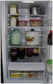 Что будет если поставить горячее в холодильник