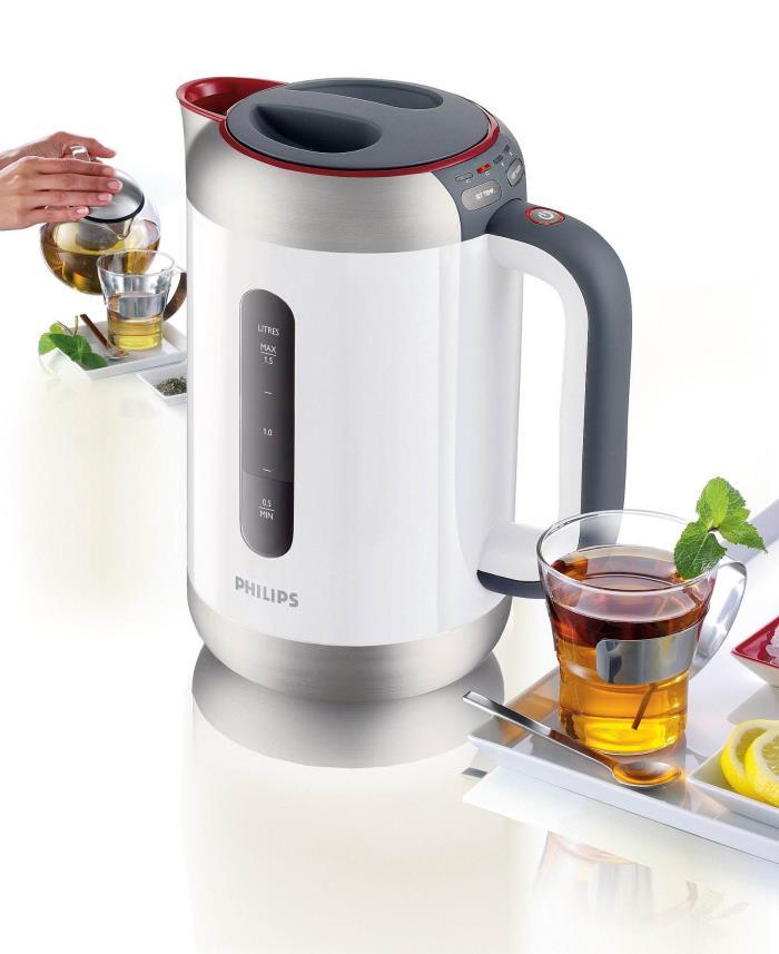 Как устроен электрический чайник