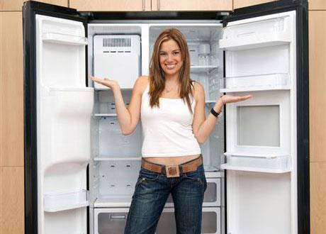 Чем помыть морозильник чтобы он не пах
