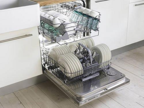 Как включить посудомоечную машину