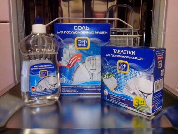 Моющее средство для посудомоечной машины какое лучше