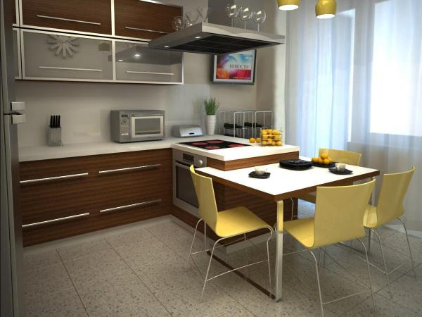 Какой телевизор лучше купить на кухню