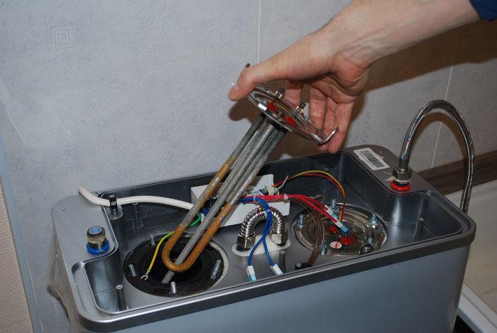Для чего нужен анод в водонагревателе