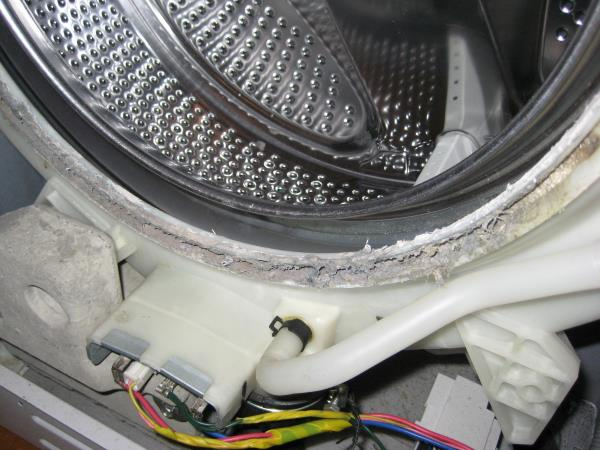 Чем промыть стиральную машину от запаха