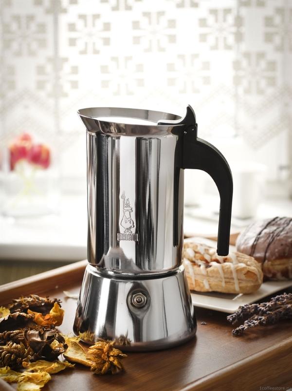 Как работает гейзерная кофеварка