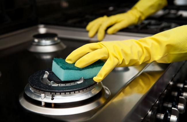 как очистить ручки у газовой плиты