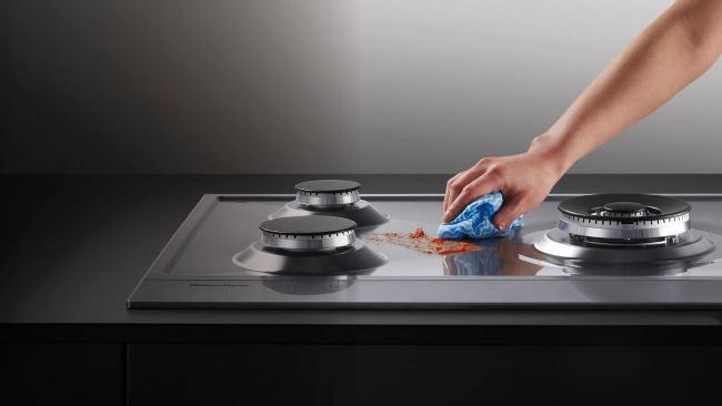 чем очистить решетку газовой плиты