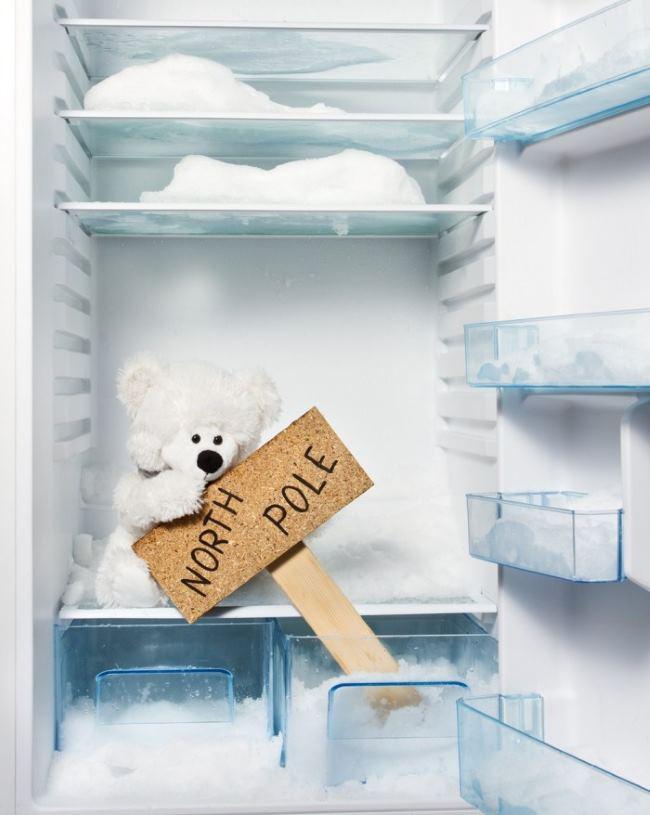 почему в холодильнике намерзает лед