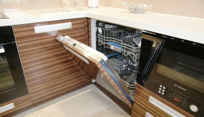прикрепить фасад к посудомоечной машине