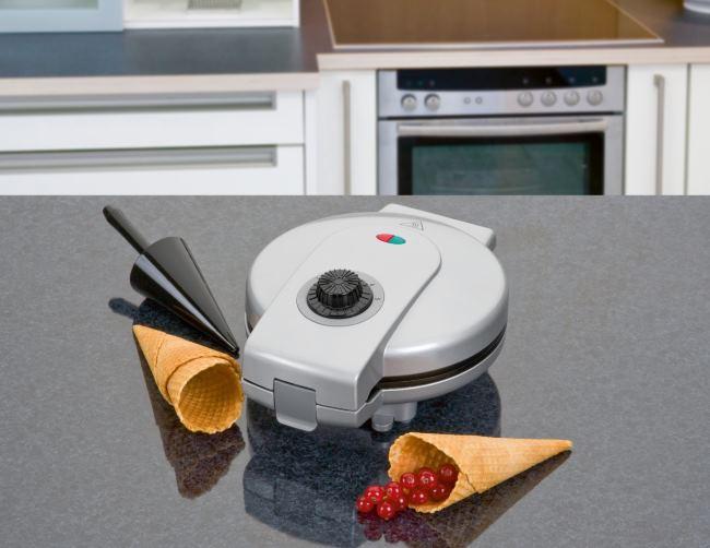 чистить вафельницу от старого жира