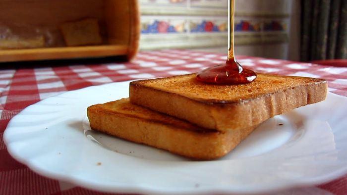 как приготовить тосты без тостера