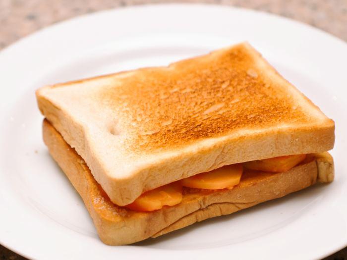 сделать тосты без тостера