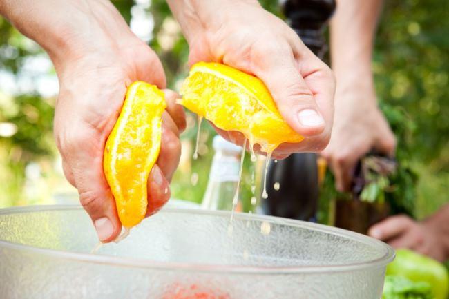 сок из апельсина без соковыжималки