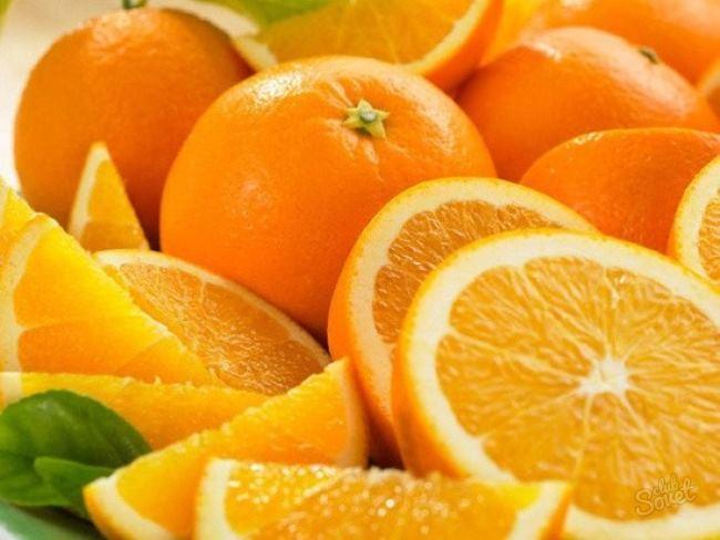 выдавить сок из апельсина