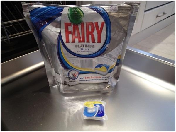 заменить таблетки для посудомоечной машины