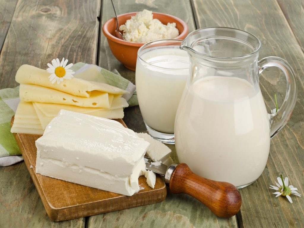 Домашнее молоко на диете